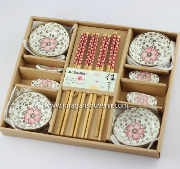 Ceramic 12 sets of red