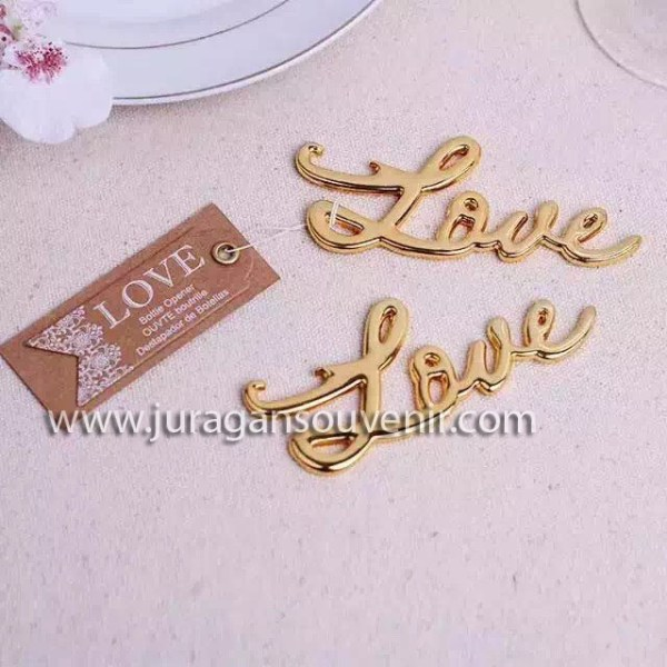 Word of Love Bottle Opener