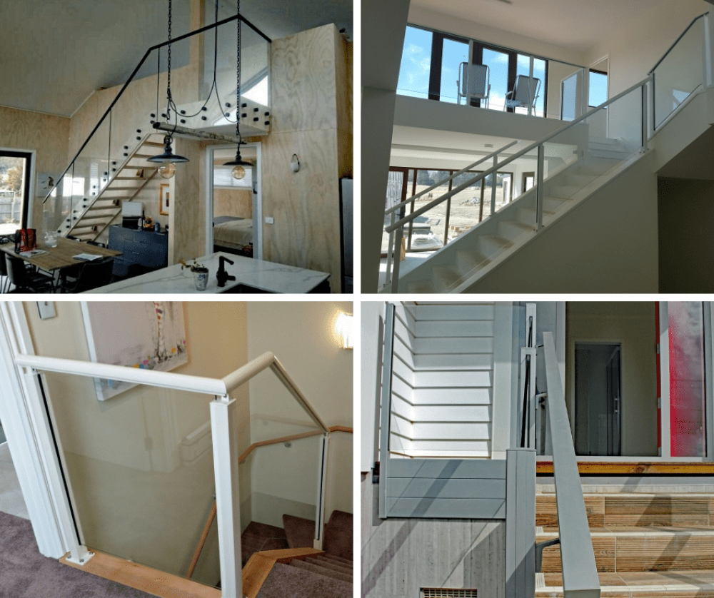Choosing Balustrades Handrails For Stairs Juralco Balustrades | Safety Handrails For Stairs | Wood Outdoor Hand | Baby Proofing | Wall | Rake | Front