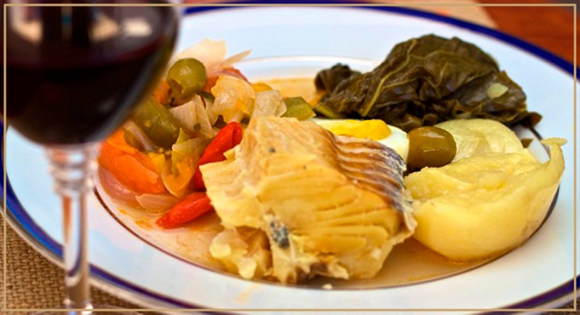 Lombo de bacalhau- especialidade