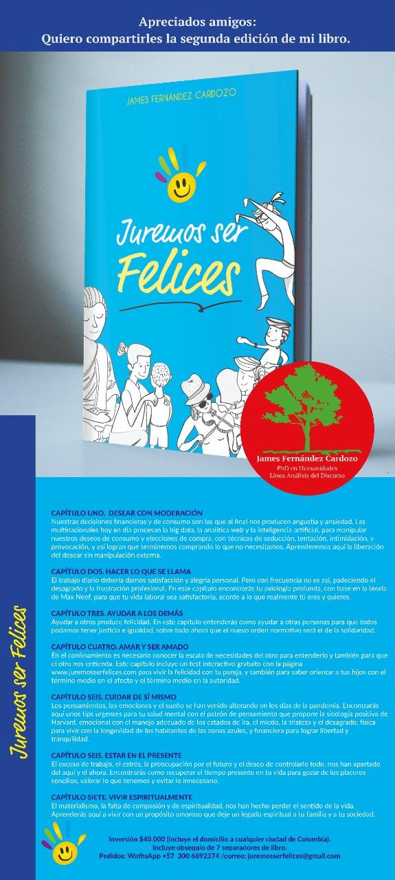 Segunda edición del libro Juremos Ser Feleices