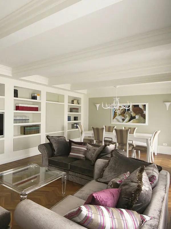 I mobili indispensabili per il soggiorno. Stile Classico Contemporaneo La Nuova Eleganza Jfd