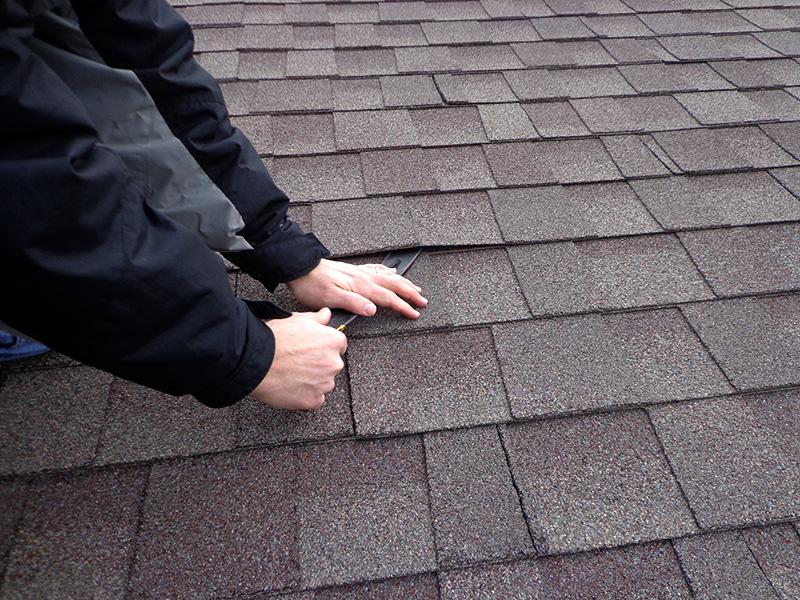Remove Roof Shingle