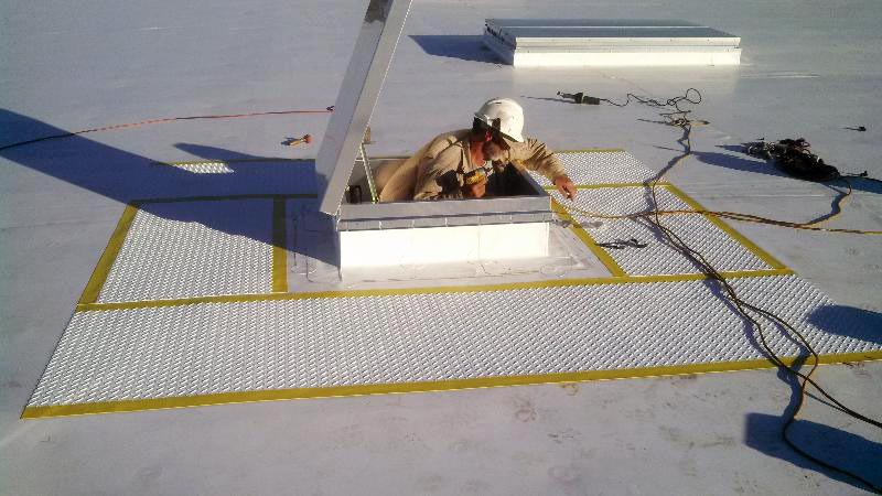Roof Walkway System