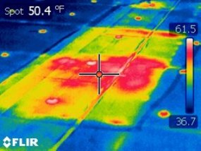 Infrared Roof Scan