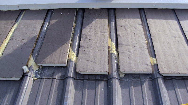 Metal roof replacement 2