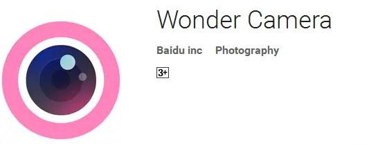 Aplikasi Edit Foto Terbaik dan Gratis Wonder Camera