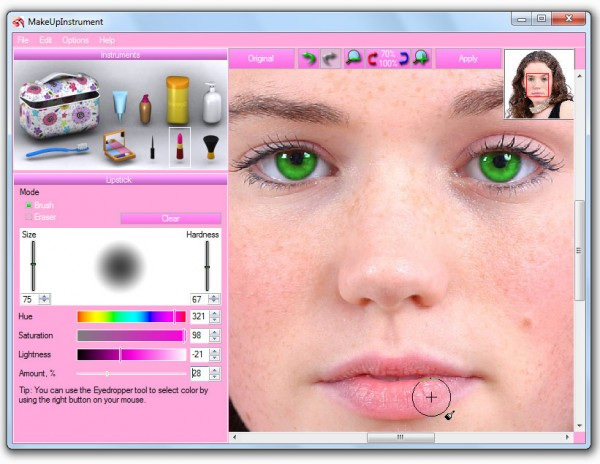 Aplikasi edit foto make up untuk pc makeup