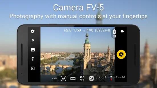 Aplikasi kamera terbaik FV 5