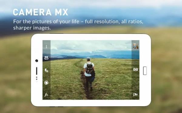 Aplikasi kamera terbaik camera mx