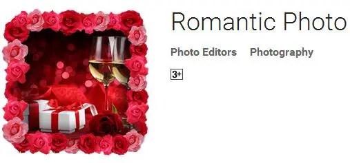 Download bingkai foto, frame foto Romantic Photo