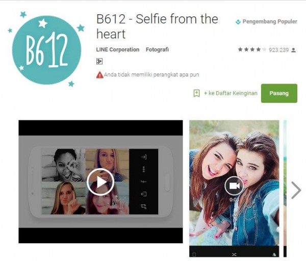 download camera b612 -3