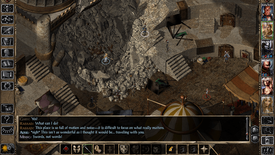 Game RPG Offline Android Terbaik Baldur's Gate II Enhanced Edition
