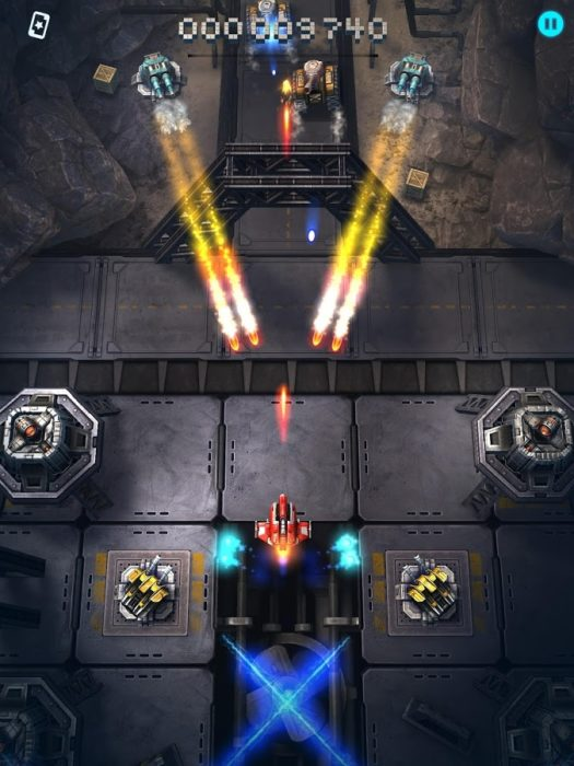 Game android gratis terbaik Sky Force Reloaded
