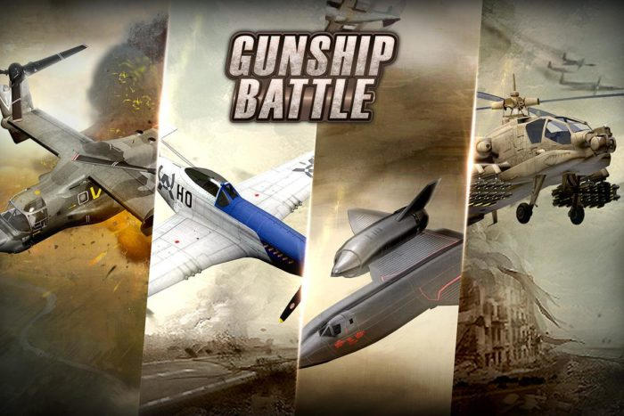 Game perang helikopter android GUNSHIP BATTLE Helicopter 3D