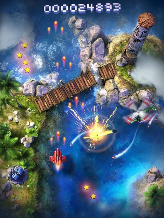 Game perang offline android Sky Force 2014