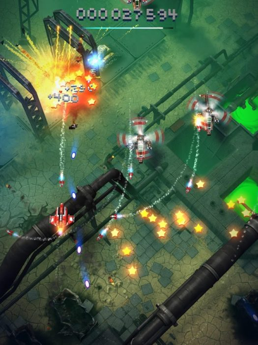 Game pesawat tempur android terbaik Sky Force Reloaded