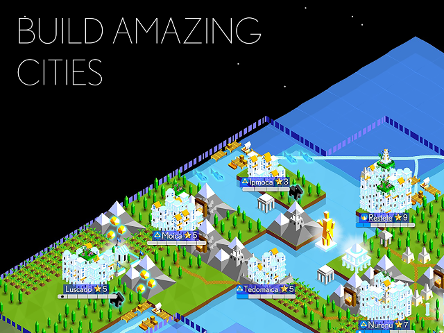 Game strategi android terbaik The Battle of Polytopia