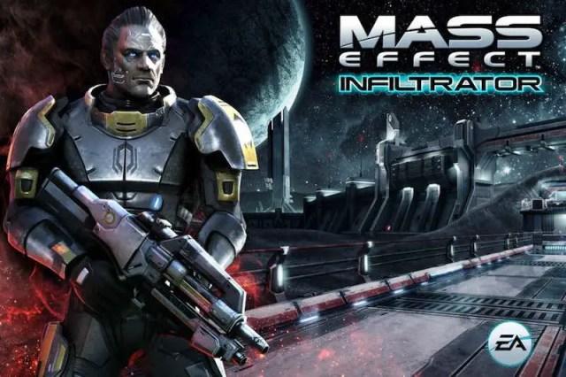 Game tembak-tembakan android terbaik Mass Effect Infiltartor