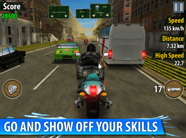 game balap motor android terbaik Bike Racing - Traffic Rivals