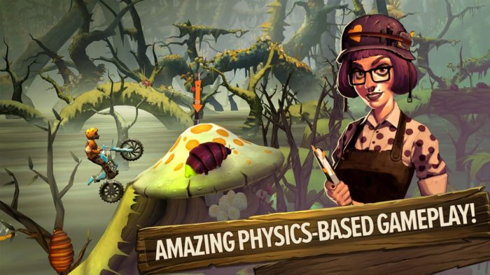 game balap motor android terbaik Trials Frontier