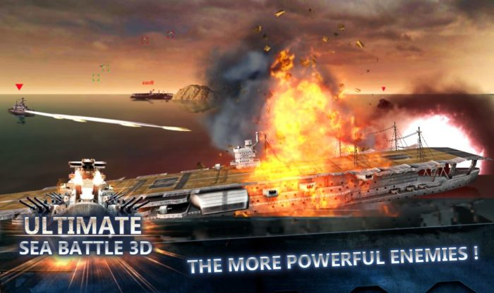 game perang kapal laut Ultimate sea battle 3D