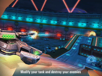 game perang tank android Iron Tanks Online Battle
