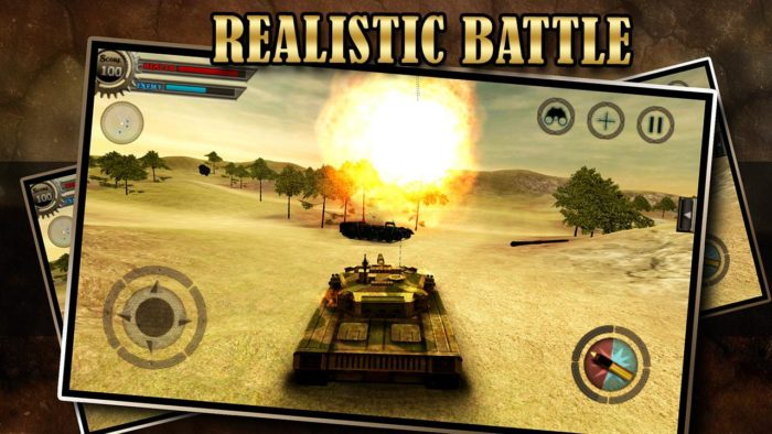 game perang tank android Tank Attack Blitz Panzer War