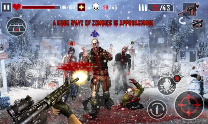 game perang zombie android Zombie Killer