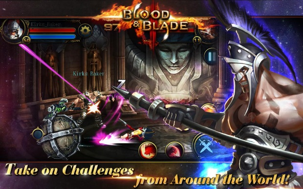 game petualangan rpg Blood and Blade