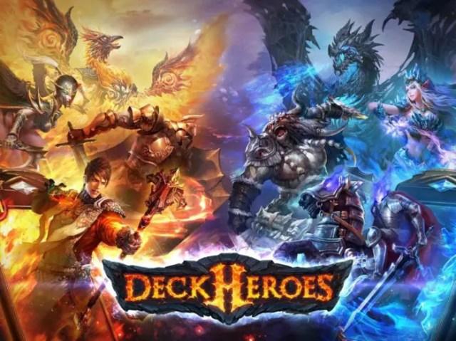 game petualangan rpg Deck Heroes
