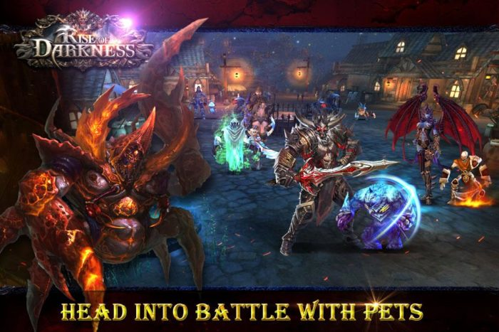 game petualangan rpg Rise of Darkness