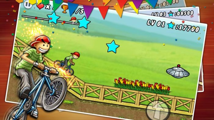 Game sepeda android BMX Boy
