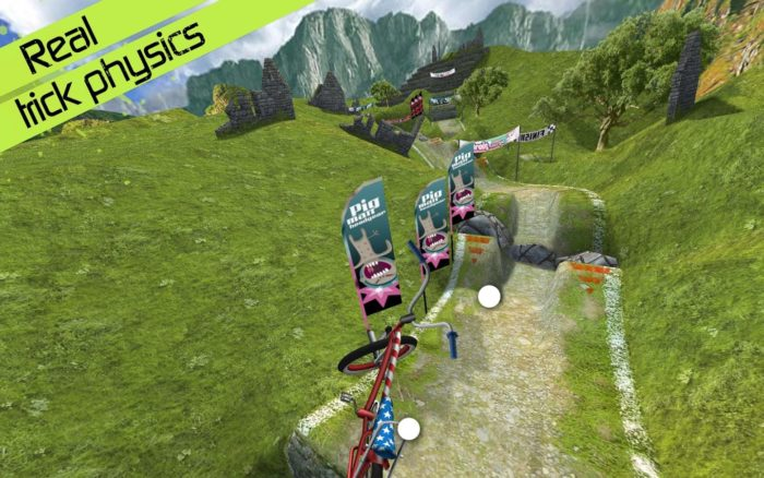 Game sepeda android Touchgrid BMX