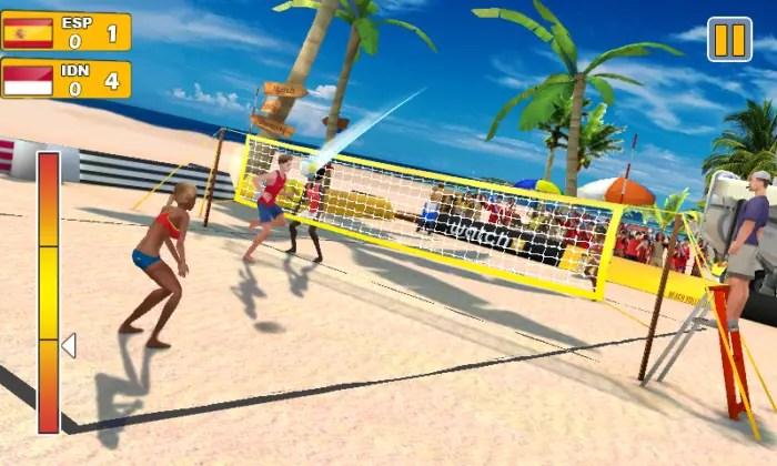 Game Bola Voli Android Terbaik Gratis Voli Pantai 3D