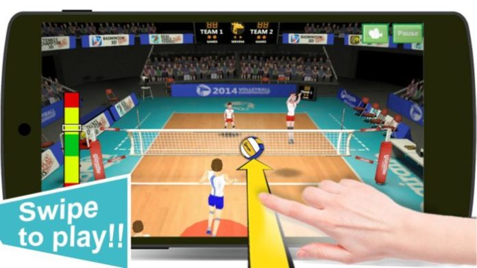 Game Bola Voli Android Terbaik Gratis Volleyball Champhions 3D