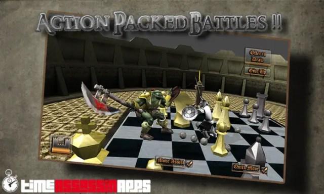 Game Catur Battle 3D