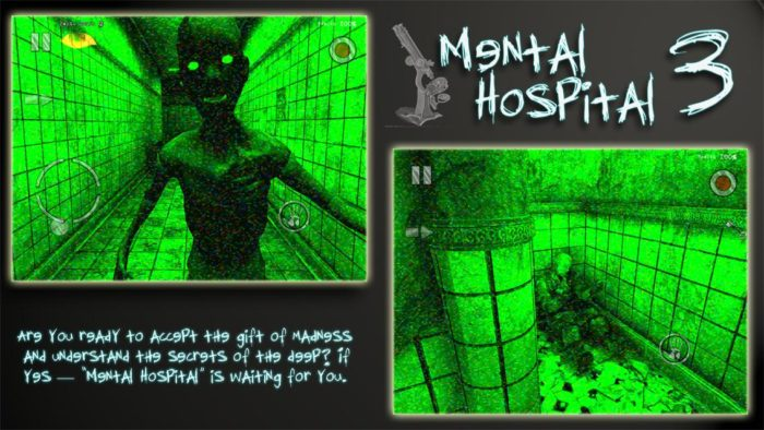 game horor Mental Hospital III Lite