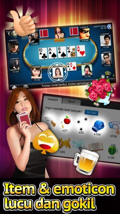 Game Kartu Android Luxy Poker