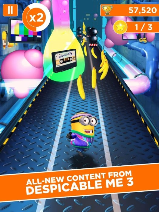 game keren Despicable Me Minion Rush