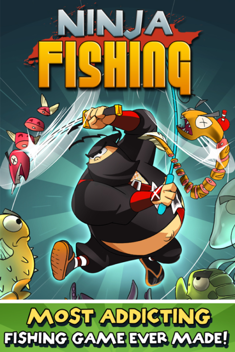 game memancing ikan Ninja Fishing