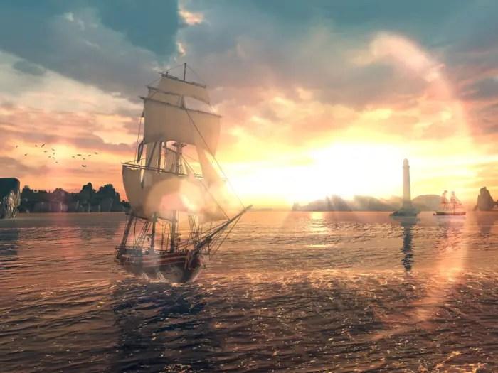 game petarungan Assasin's Creed Pirates