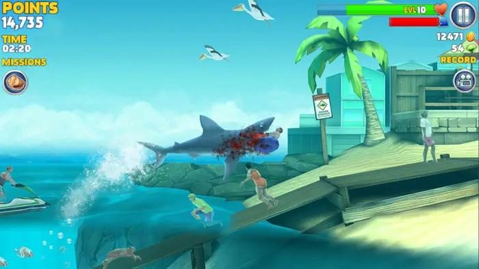 game renang Hungry Shark Evolution