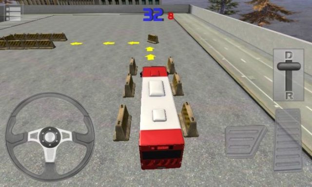 game parkir bus android  3D