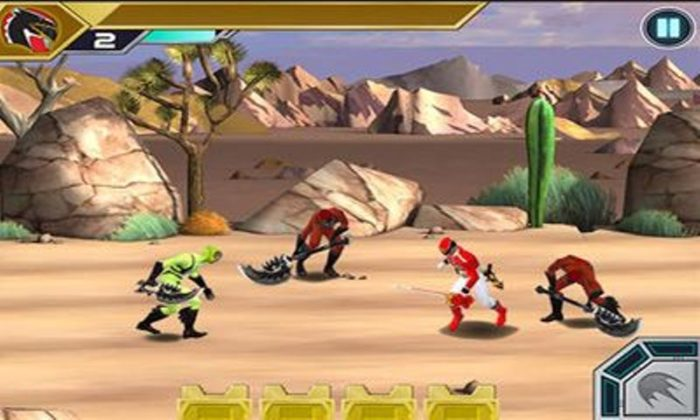 game power ranger android 10
