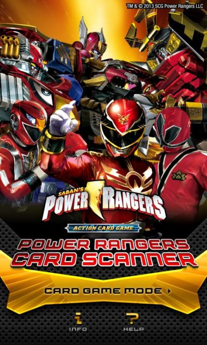 game power ranger android 6