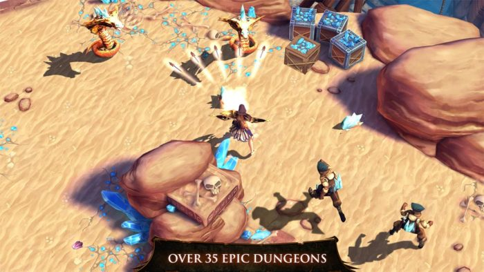 Game Petualangan 3D Dungeon Hunter 4