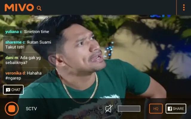 Aplikasi TV Streaming Terbaik Mivo TV
