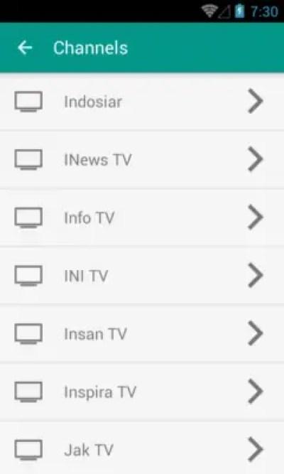 aplikasi tv indonesia android