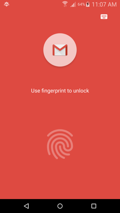 App Lock Fingerprint Password